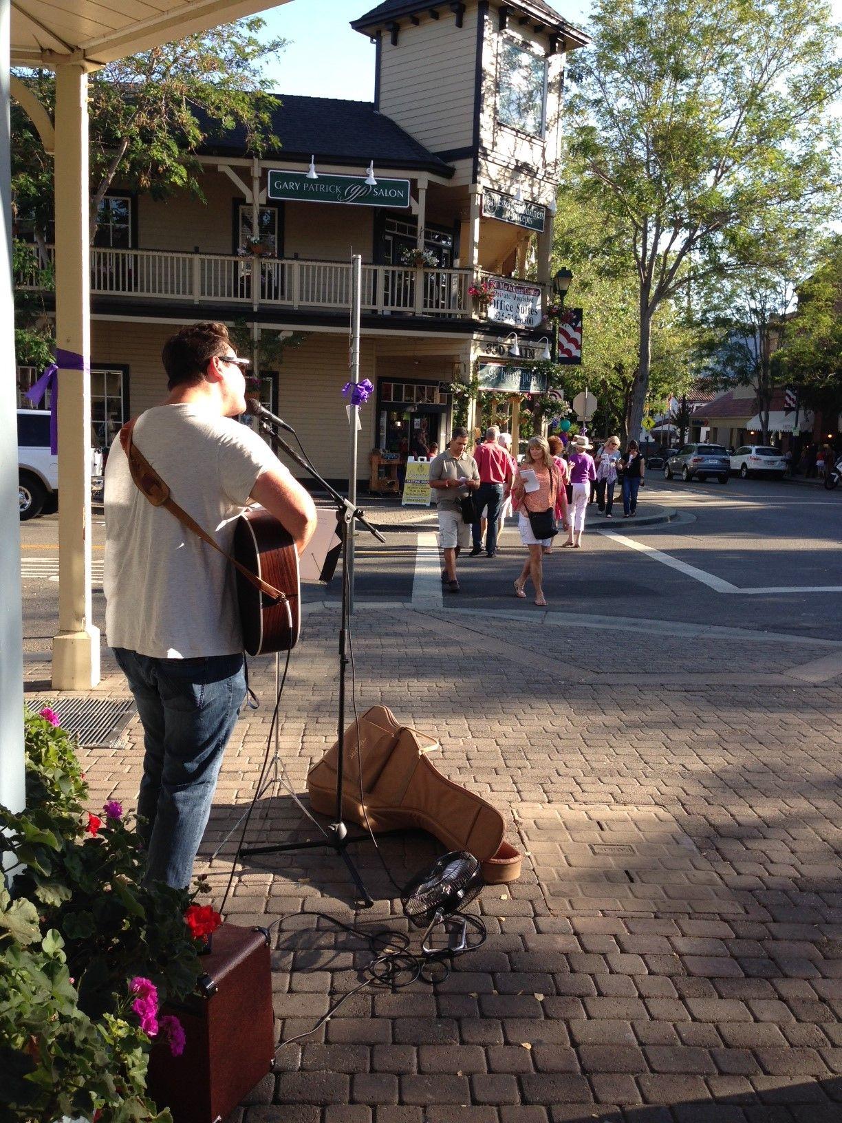 Eric Rozran Participates At Wine Stroll Pleasanton Summer Wines Stroll Wine