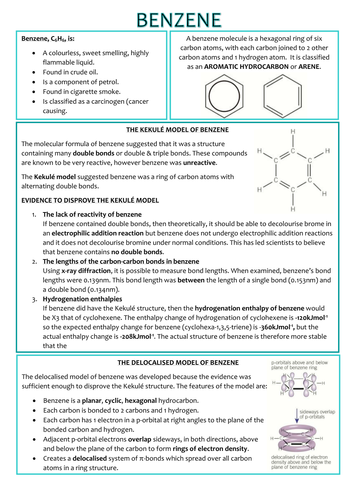 Chemistry AS Level OCR Revision Notes - Organic Chemistry