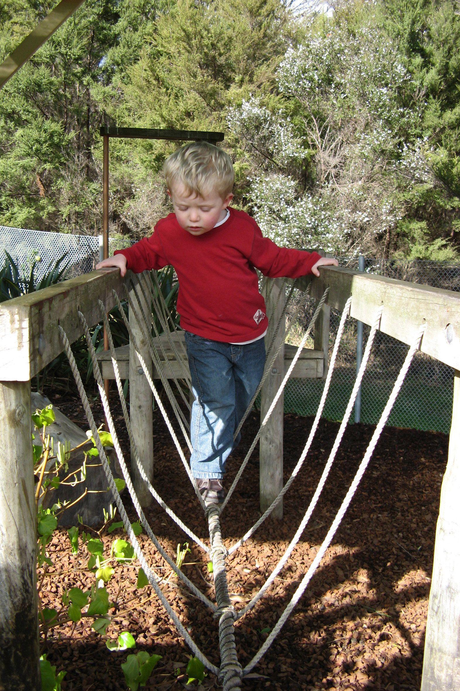 outdoor bridge montessori pinterest bridge playground and