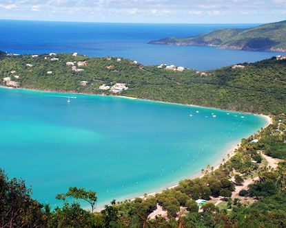 Magens Beach Bay St Thomas Great Places To See