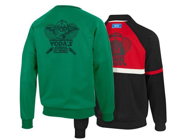 Yoda's School of Tennis, reversible jacket by Adidas Originals #adidas # starwars