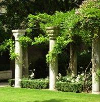 columns in the garden