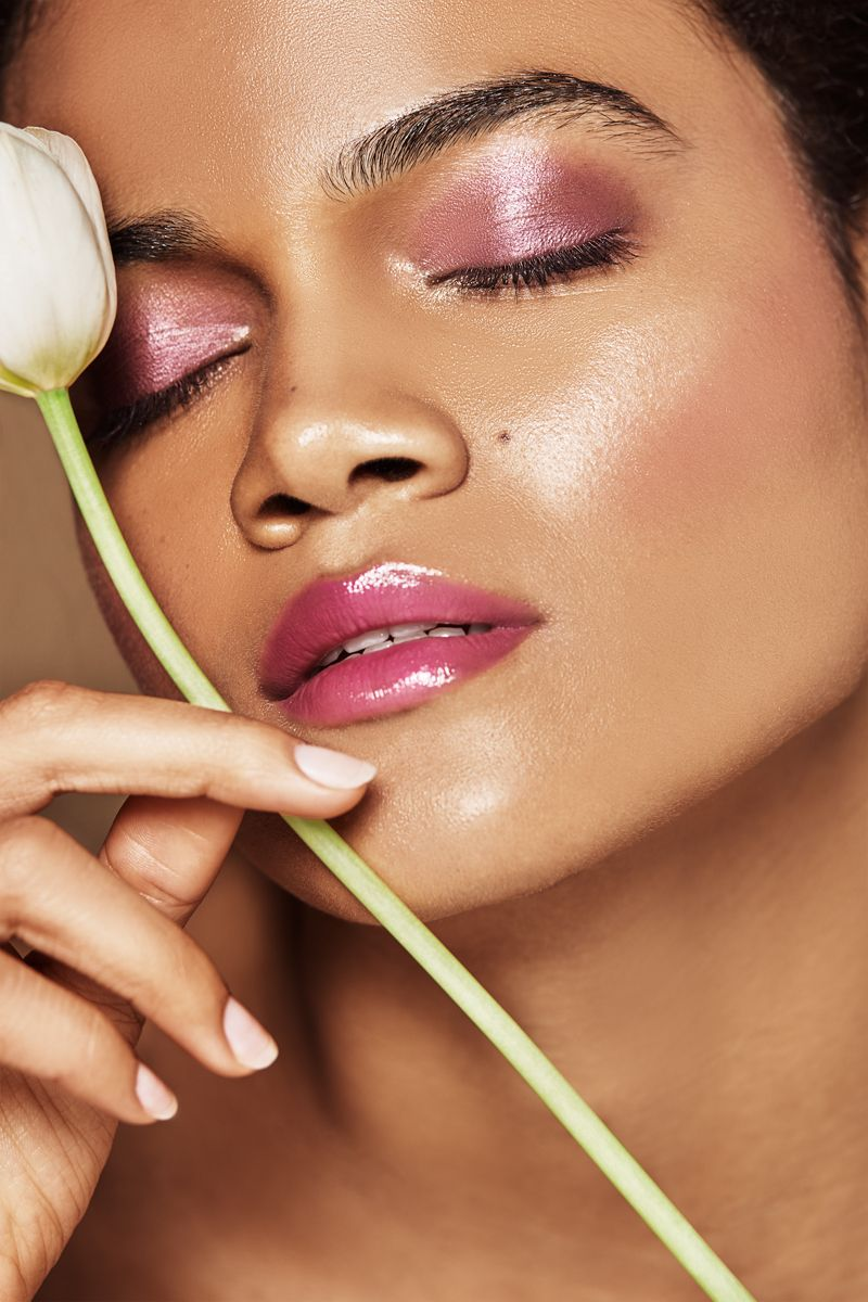 Beauty editorial for Grazia Makeup artist Laura Sanchez