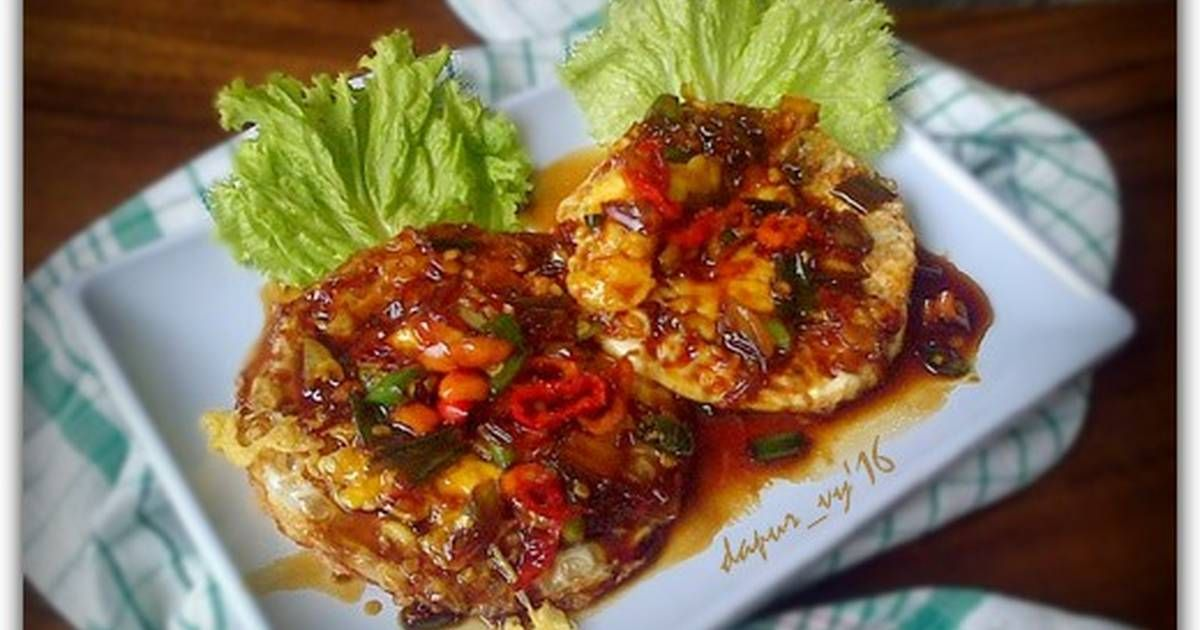 Resep Telur Ceplok Siram Tumis Kecap Oleh Dapurvy Resep Resep Makanan Masakan Resep Masakan Indonesia