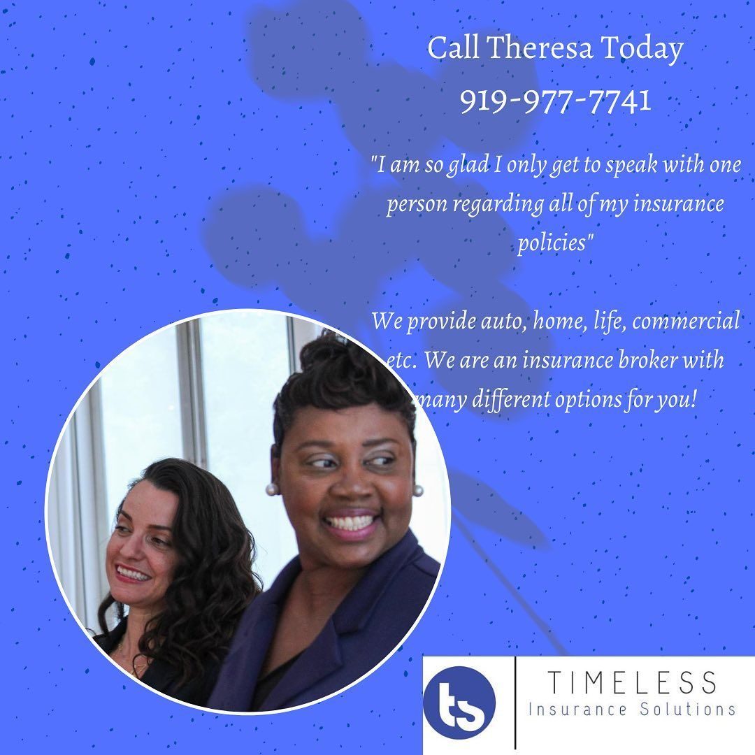 Throwback Thursday Timeless Insurance Theresa Is An Incredible Insurance Broker Who Will Take The Time To Evaluate Your Needs Insurance Broker Call Her Today
