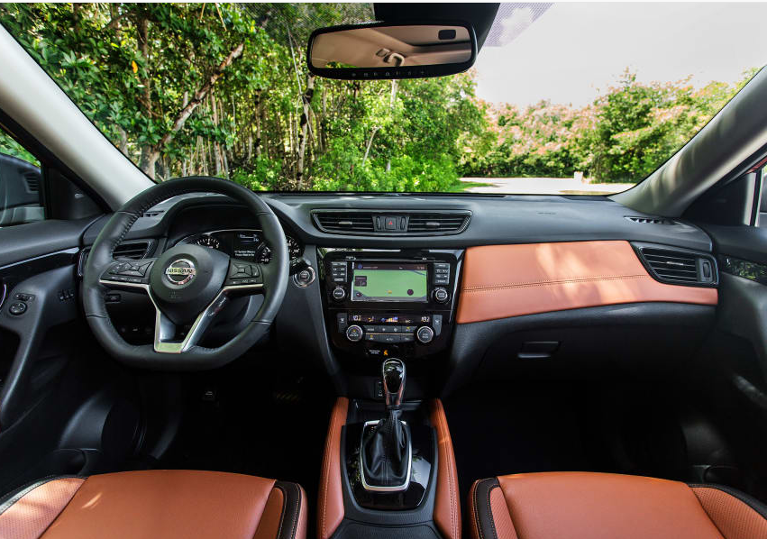 2017 Nissan Rogue Interior Nissan rogue 2017, Nissan