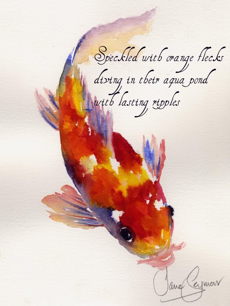 Koi fish haiku - See this image on Photobucket. | Rocks | Pinterest ...