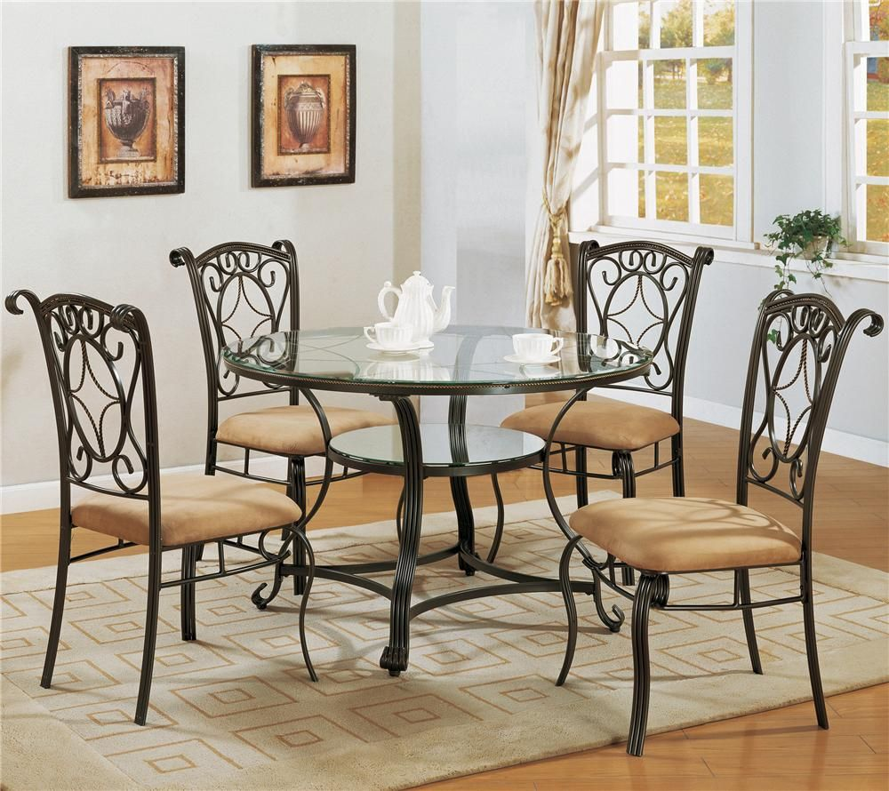 Best Jessica 5 Piece Dinette Table And 4 Chairs 578 00 Table 400 x 300