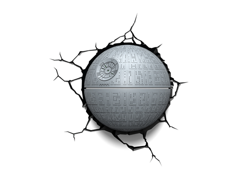 3d Light Kuolemantahtiyovalo Star Wars Death Star 3d Night Light 3d Deco Light