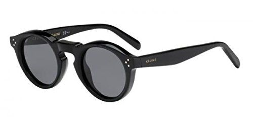 53ce36b04c70a cool Celine Bevel CL 41370 807 Black Plastic Round Sunglasses Check more at  http