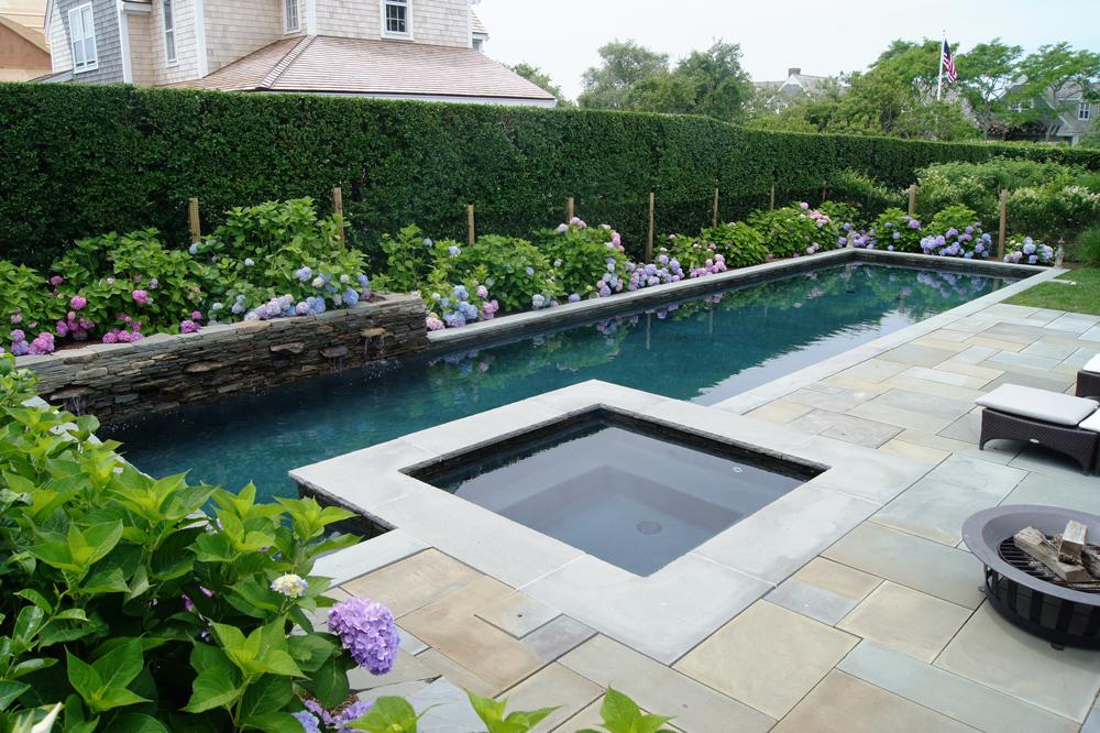 Lap Pool With Spa Lap Pools Backyard Hot Tub Garden Luxury Pools Backyard