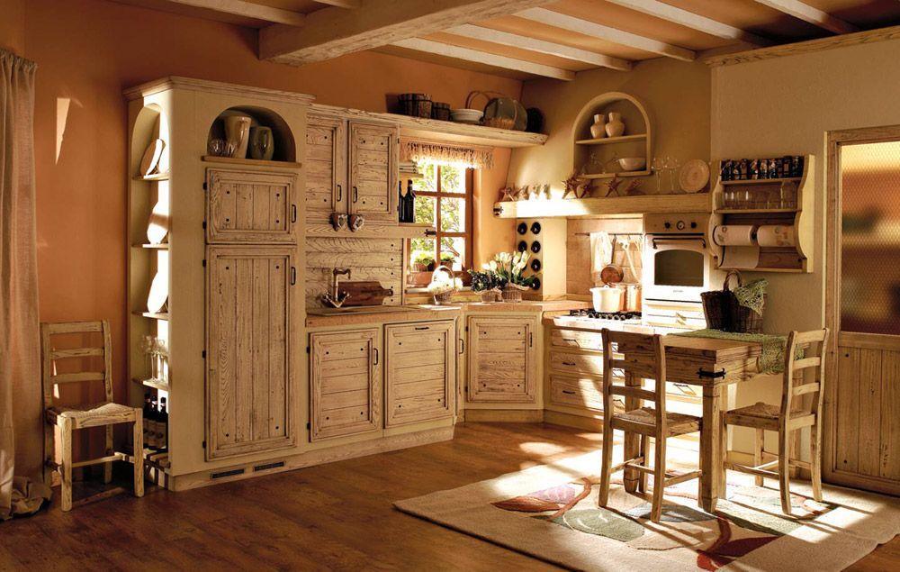 Cucine in muratura cucina giulietta a da zappalorto - Cucine stile toscano ...