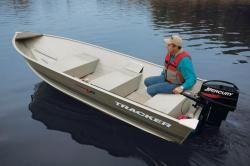 New 2013 Tracker Boats Guide V 14 Riveted Deep V Tracker Boats Aluminum Fishing Boats Small Fishing Boats