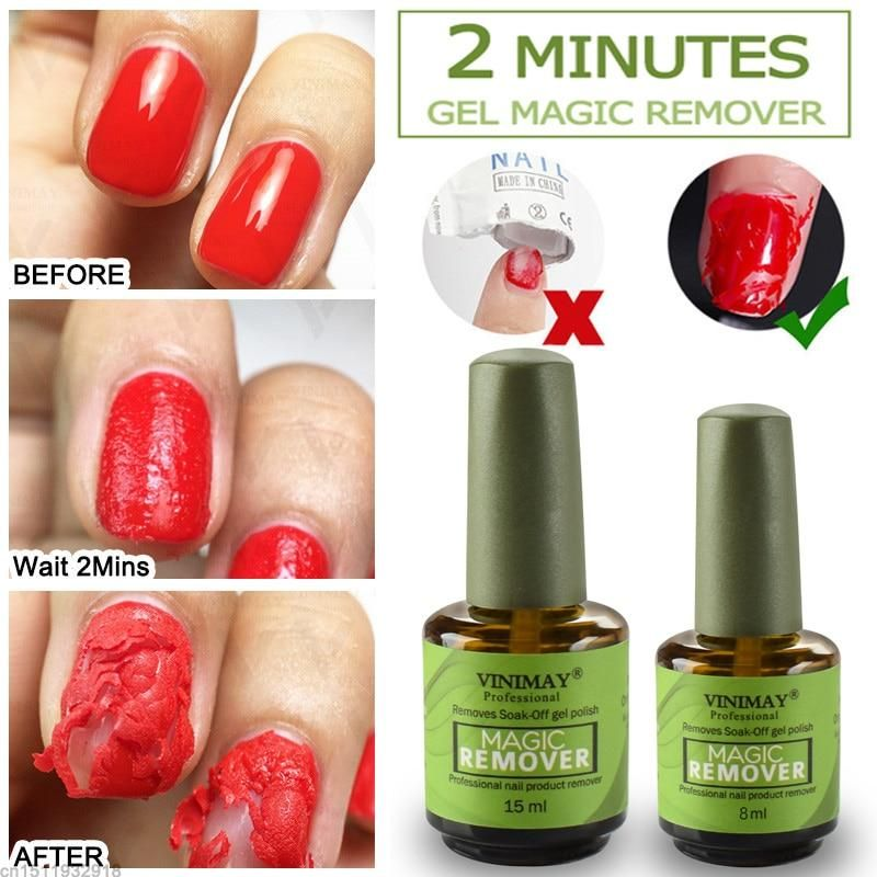2 Minutes Burst Nail Polish Gel Magic Remover Nail Polish Remover Nail Polish Magic Nails Gel Remover