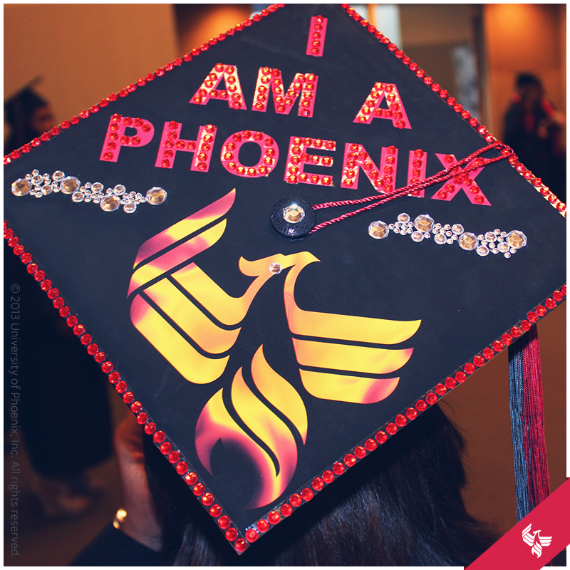 We loved seeing our grads cap decorations. This one really stood out ...