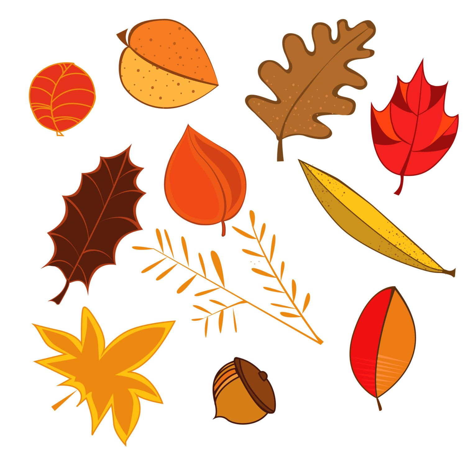 Autumn Leaves Clip Art Leaves Cliparts Autumn Clipart
