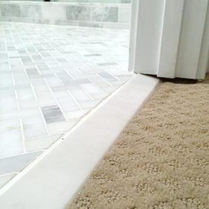 Marble Transition From Tile To Carpet Honed Marble Tiles Carpet To Tile Transition Flooring