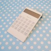Functional Solar Powered Calculator Favor,every time your guests use it to count, they will remember the romantic wedding.   $9.99