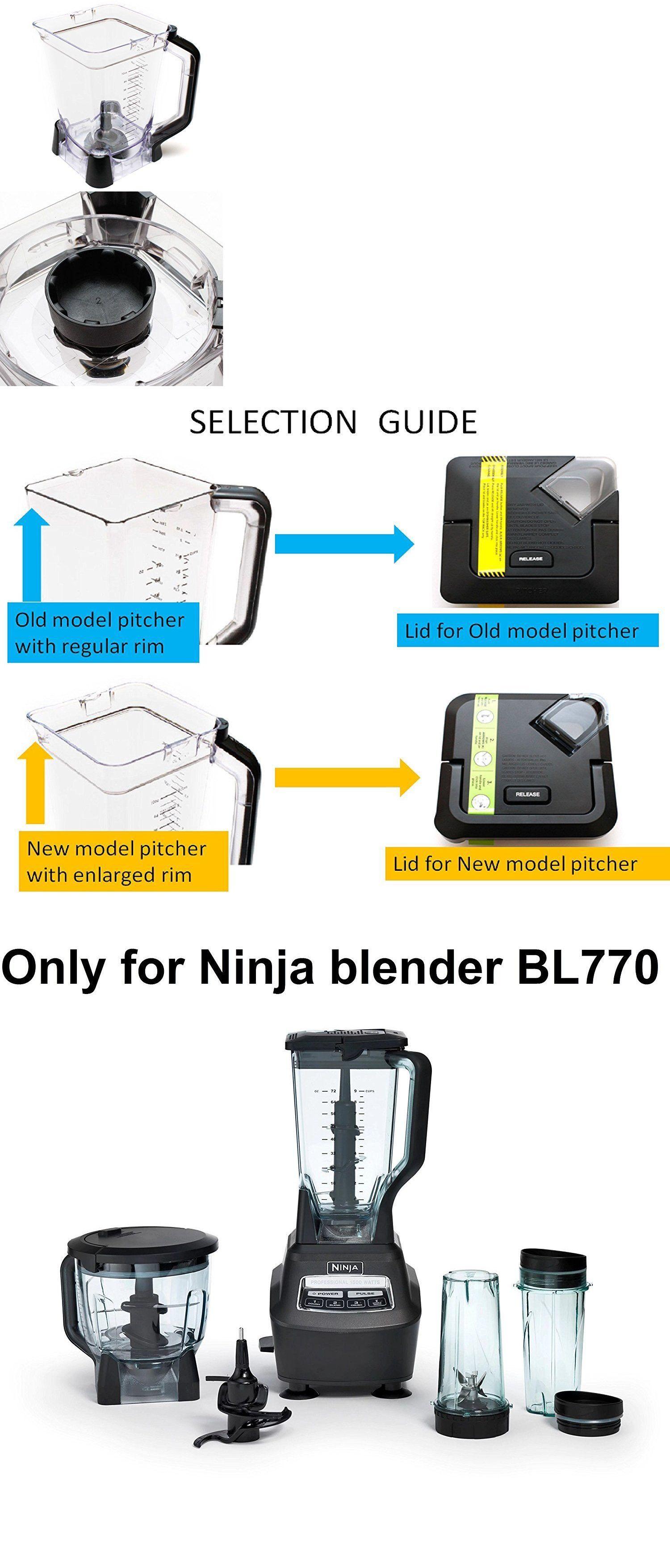 Countertop Blenders 133704: Ninja Mega Kitchen System Bl770 ...