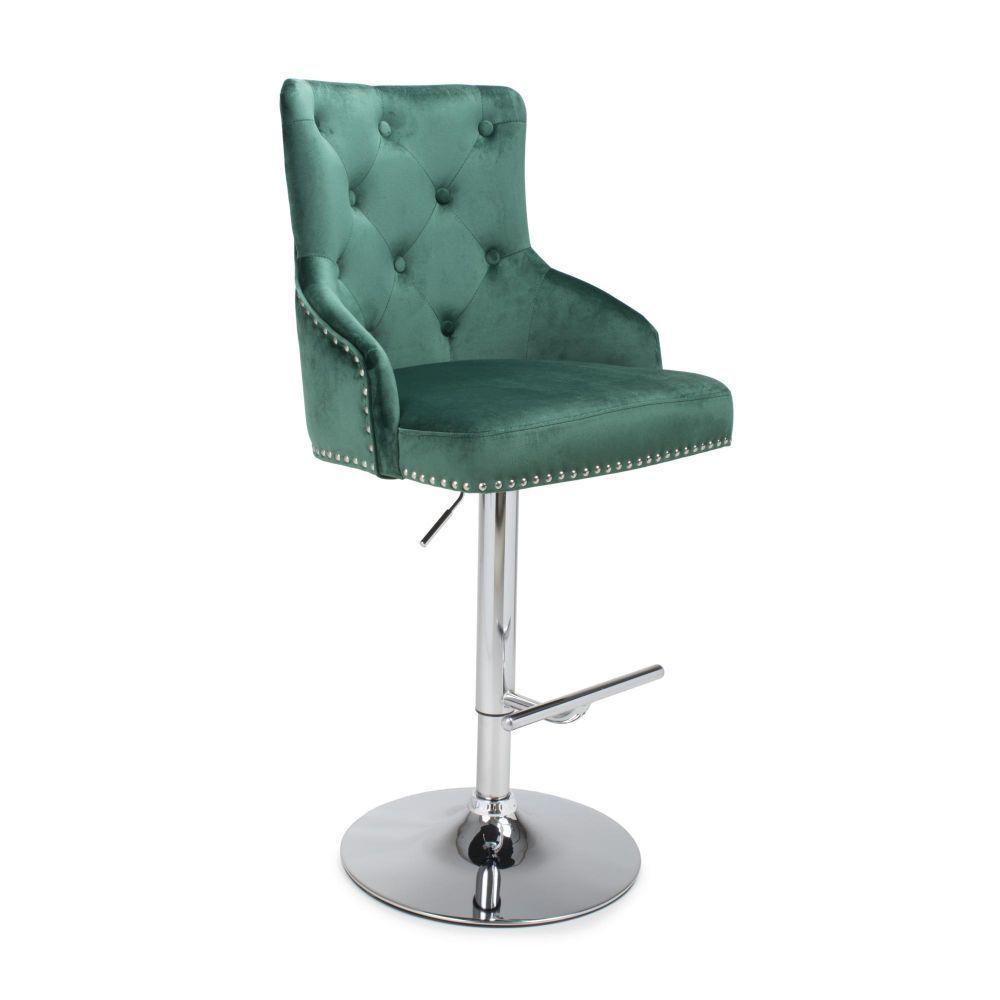 Chaise Green Velvet Bar Stool Bar Stools Velvet Furniture Retro Furniture