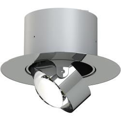 Photo of Top Light Puk Maxx Inside Deckeneinbauleuchte einflammig chrom Ø 20cm Standard-Fassung Top LightTop