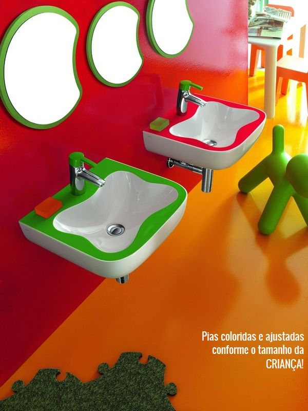 These are great for my kid's bathroom.   @HansgroheUSA and #BathroomDreams