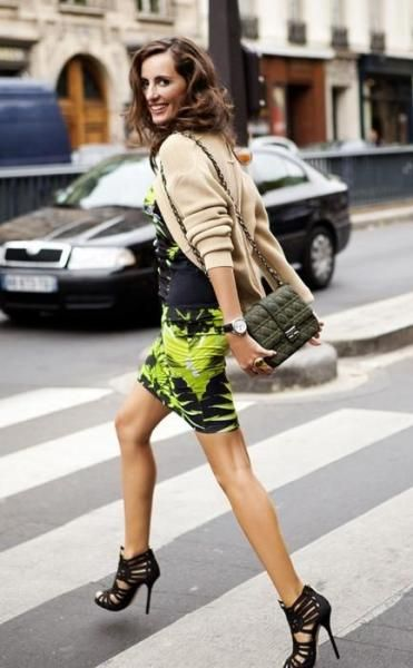 transition your sundress by layering over a sweater and pairing the look with booties