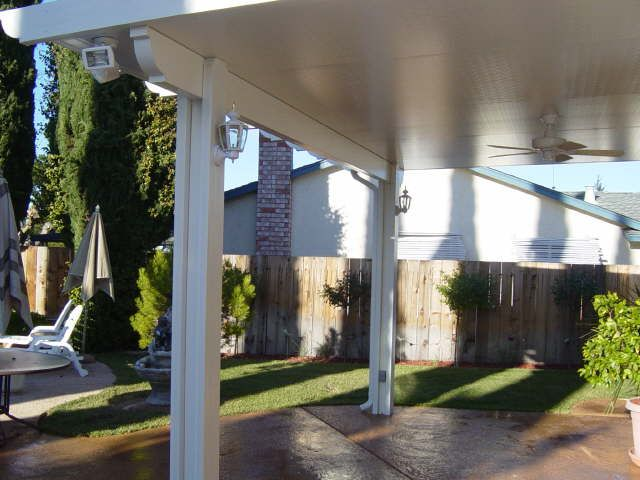 Fans And Lights Bright Ideas Design Center Patio Covered Patio Aluminum Patio Covers