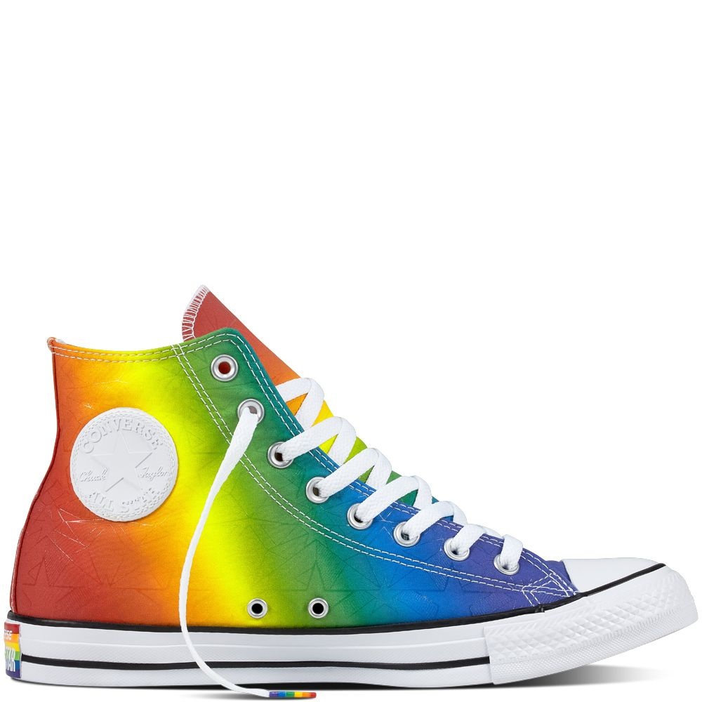 0410f94a0a61 Chuck Taylor All Star Pride Geostar Multi White Black multi white black