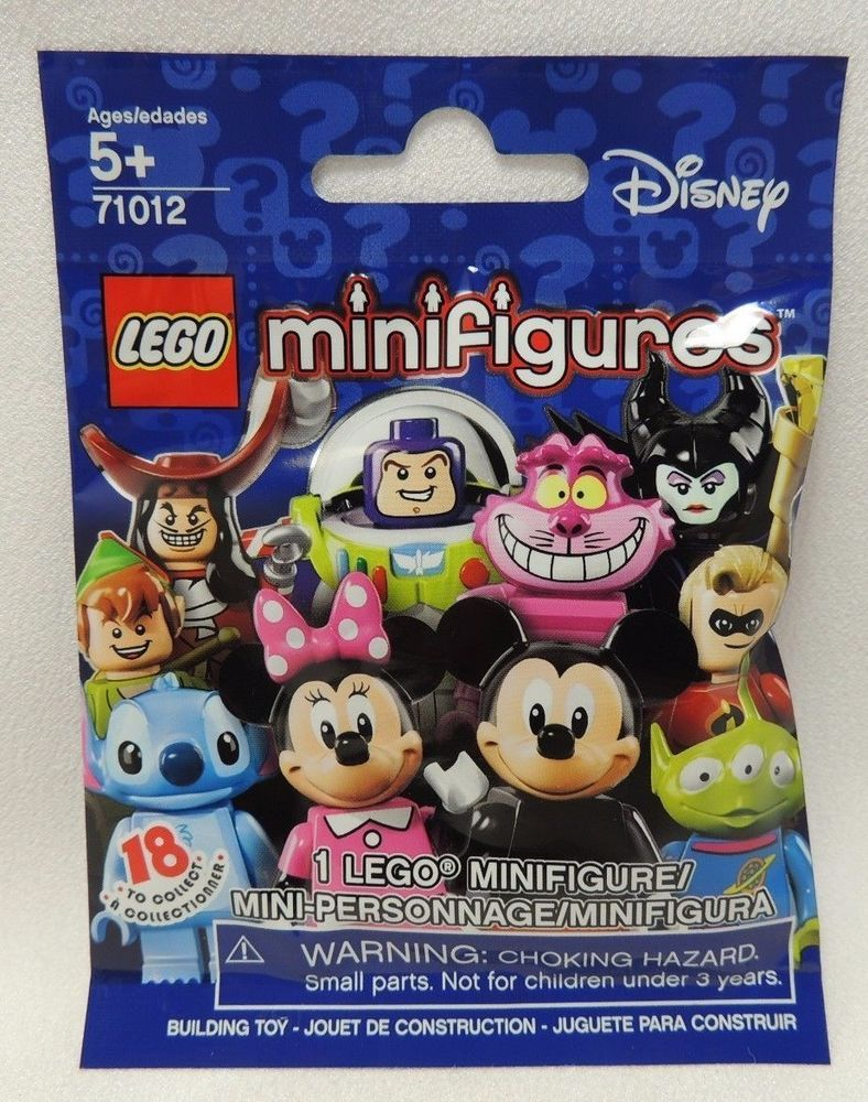 One Disney Lego Minifigure 71012 New Sealed Pack Blind Bag Series 16