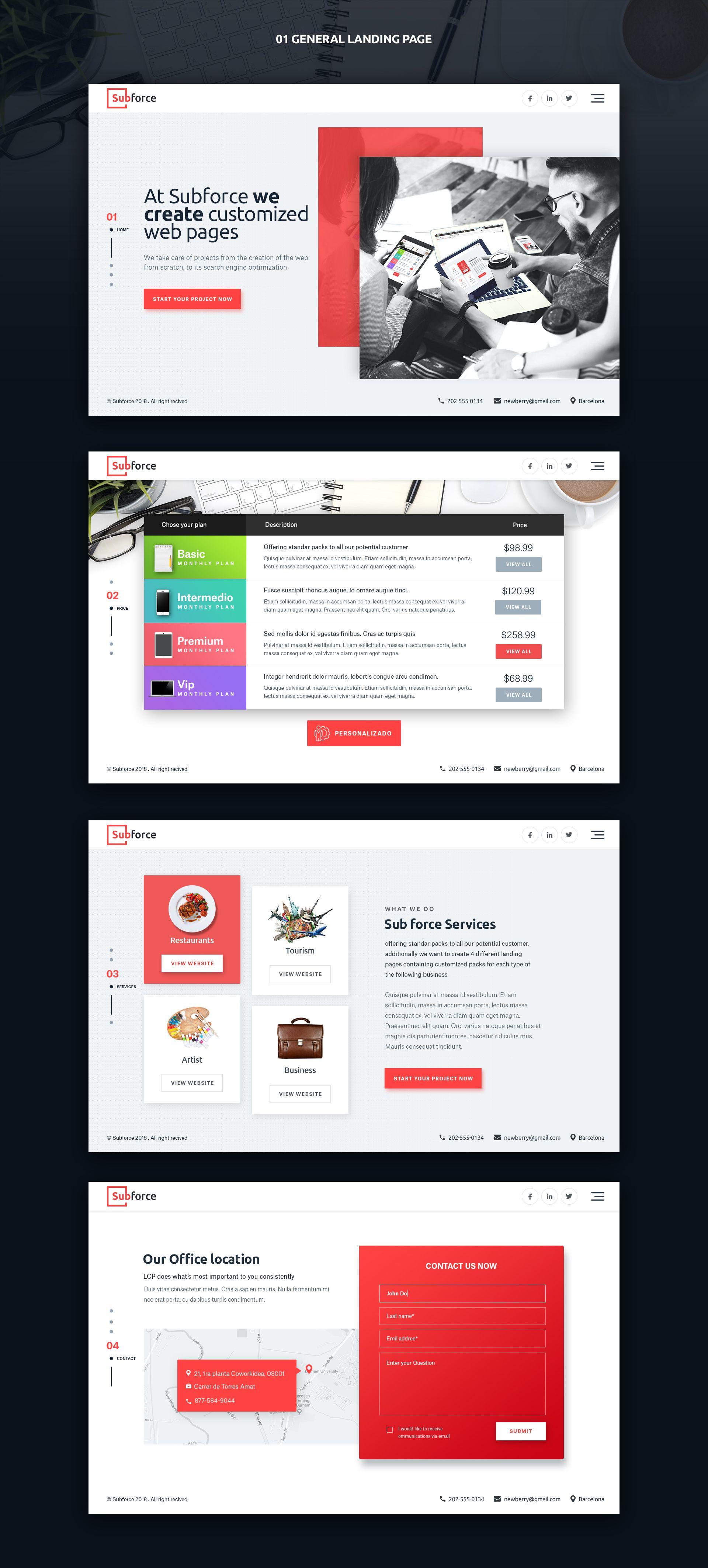 Designs Design For 5 Landing Pages Web Page Design Contest Design Web Design Trends Website Design