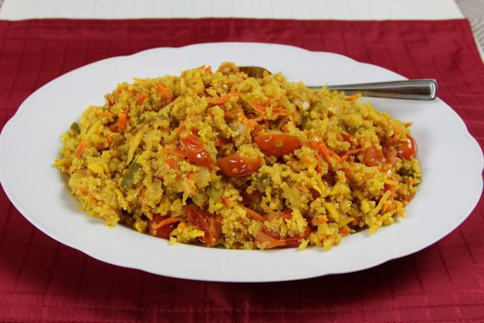 Curried Quinoa and Carrots Pilaf | Eat Move Be