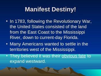 History Alive - Chapter 16 - Manifest Destiny | Chapter 16, Social ...