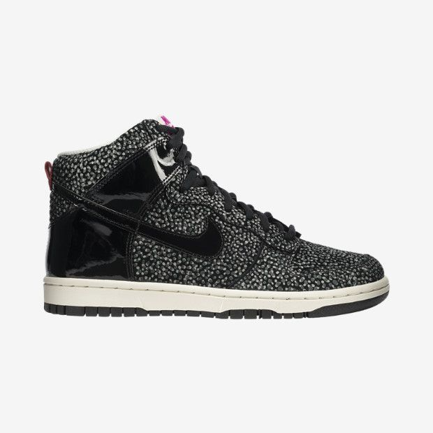 Just got these today XD Love them!!! Nike Dunk High Skinny Print Women's Shoe