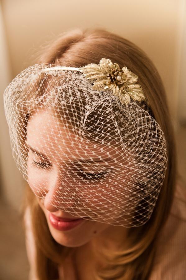 DIY Headband Birdcage Veil Tutorial  4096b085280