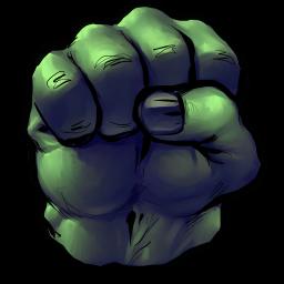 Marvel Avengers Hulk Fist