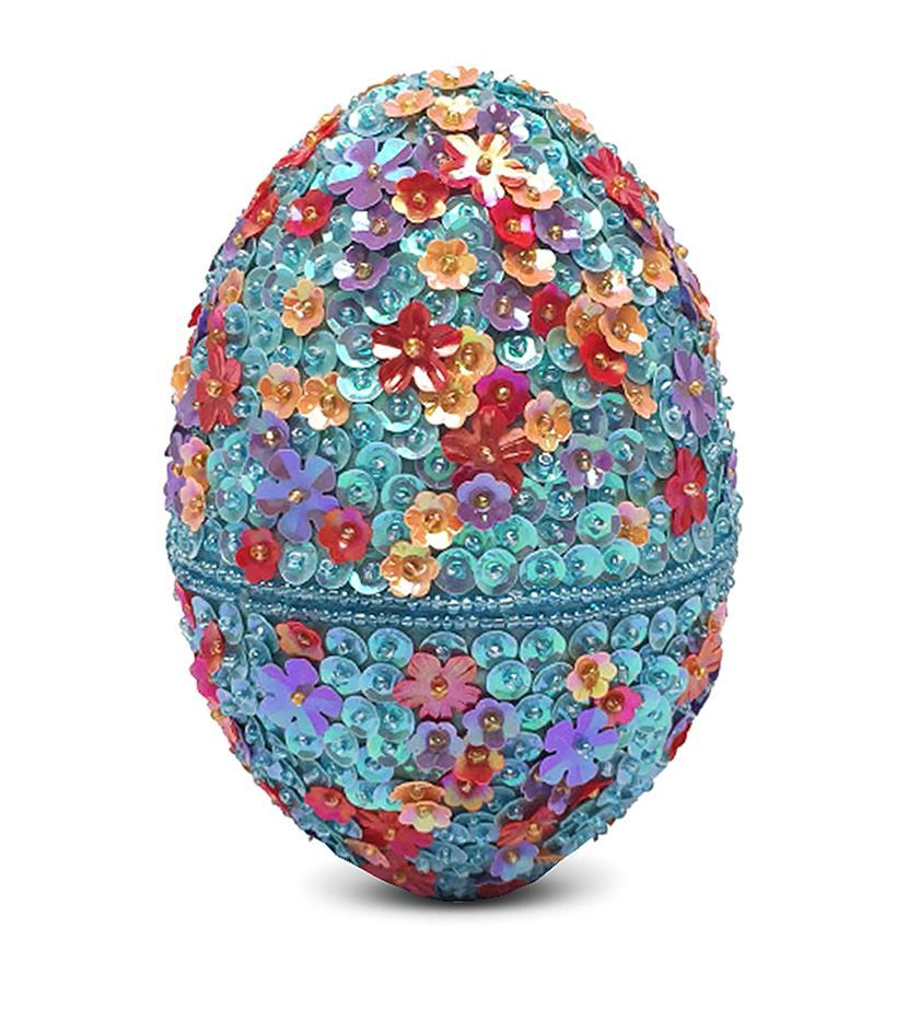 Designer clothing luxury gifts and fashion accessories harrods london godiva beaded egg with mini chocolate easter egg 4500 negle Image collections