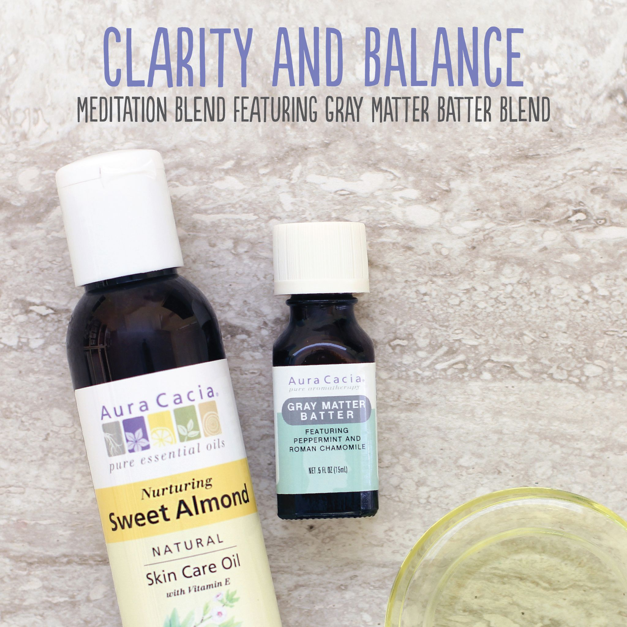 Clarity And Balance Meditation Blend Aura Cacia Aura Cacia Essential Oils Recipes Essential Oils Herbs Essential Oils Aromatherapy