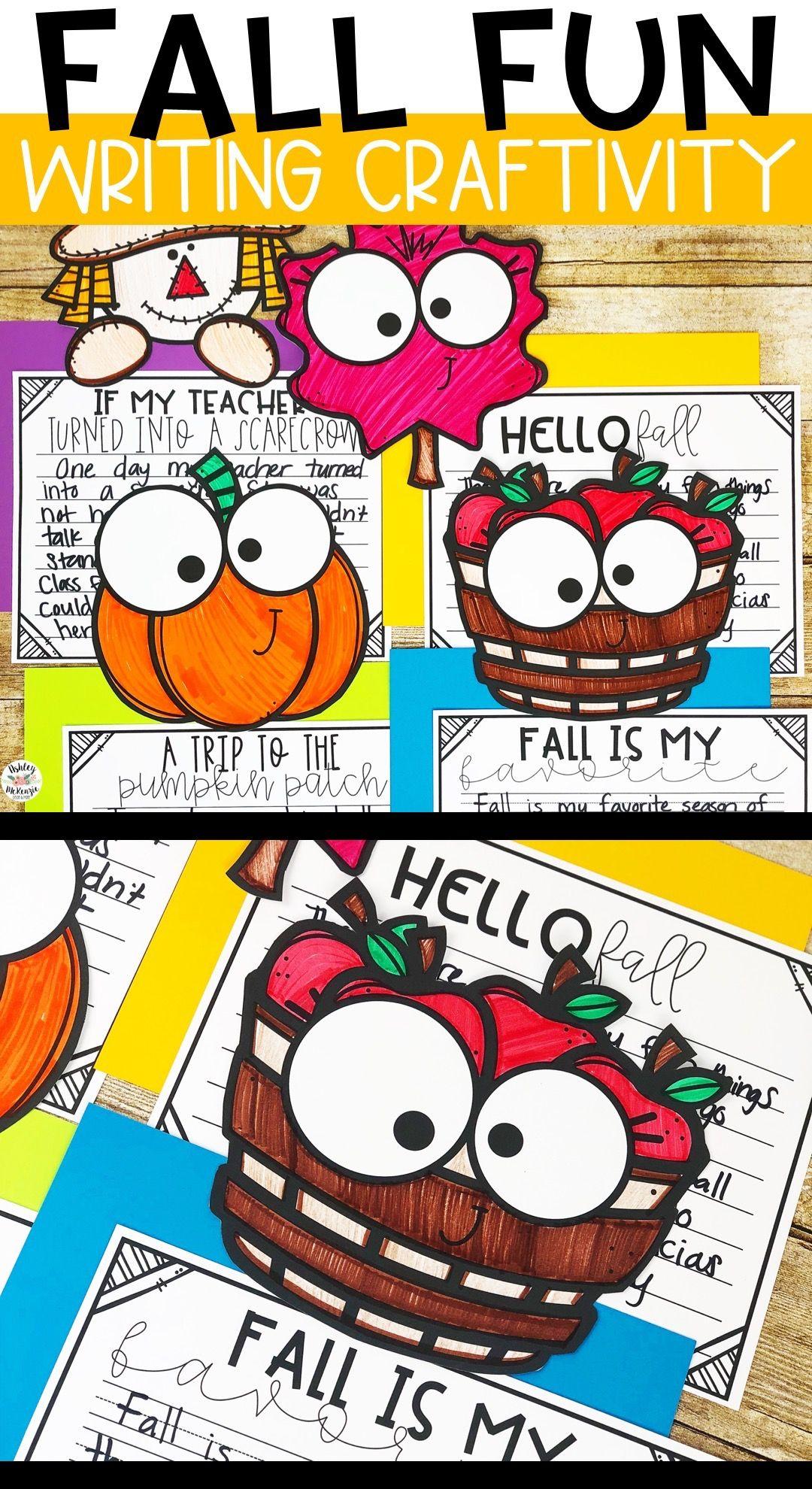 Fall Activity Fall Writing Craftivity