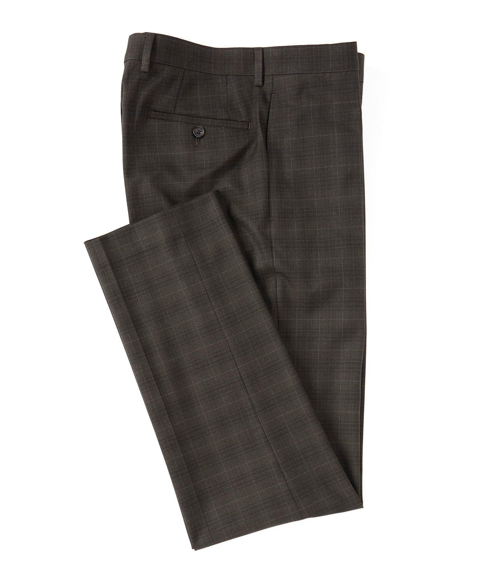 Ralph Ralph Lauren Slim Fit Flat Front Dress Pants