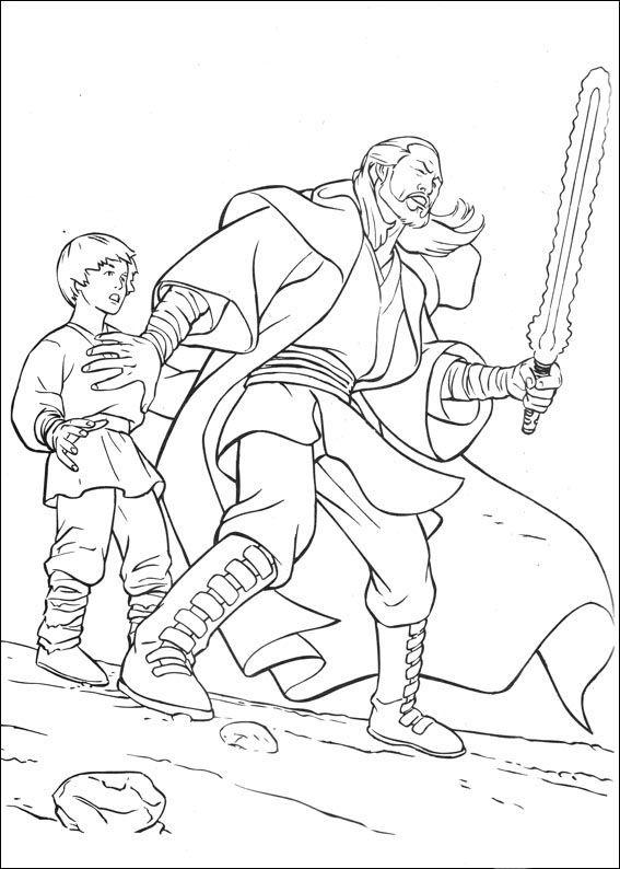 Star Wars 53 Ausmalbilder für Kinder. Malvorlagen zum ...