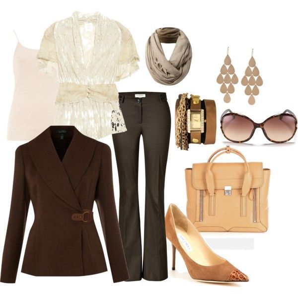 Pinterest Work Outfits | Found on pipawhite.polyvore.com