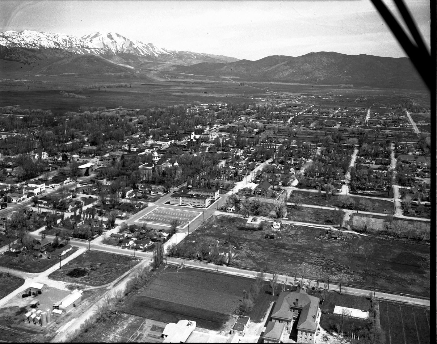 View From Above Of Old Carson City Can You See The Capitol