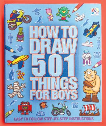 501 things to draw for girls or boys drawing is easy for girls and boys with - Drawing Books For Boys