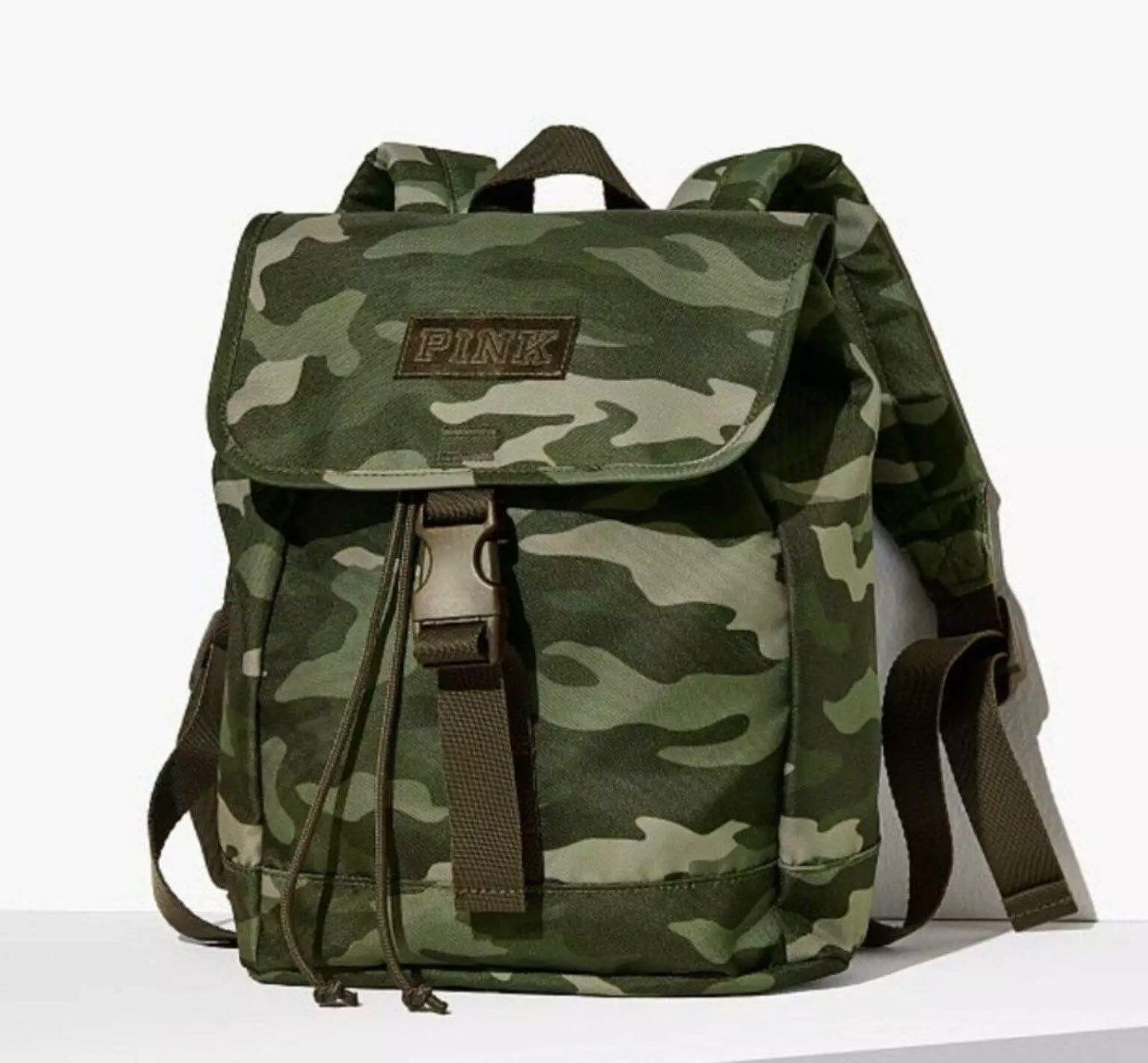 Victorias Secret PINK CAMPUS BACKPACK Camo Camouflage Print BRAND NEW