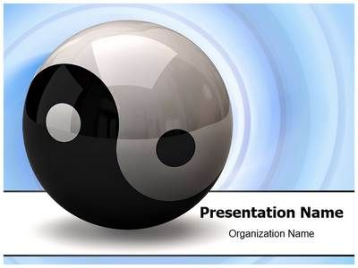Ying yang symbol powerpoint template is one of the best powerpoint ying yang symbol powerpoint template is one of the best powerpoint templates by editabletemplates toneelgroepblik Image collections