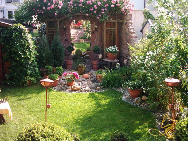 Klein Aber Fein Garten Gartengestaltung Garten Gestalten