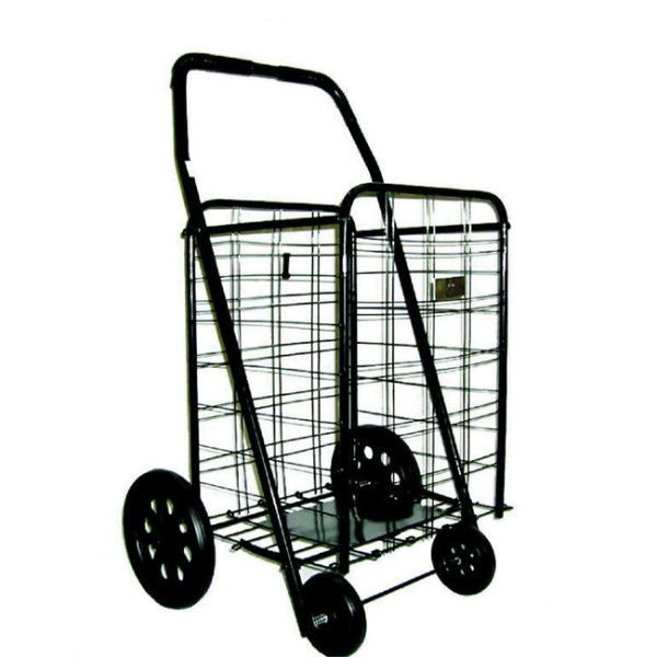 533b71e8f075 Shopping Carts Folding Grocery Utility Cart With Wheels Rolling ...