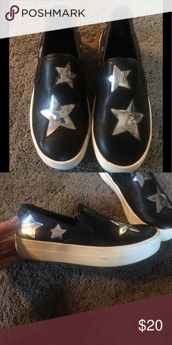 0a17cfbca5d Steven by Steve Madden black slip on sneaker Super cute black slip ...