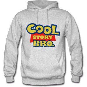 Cool story bro hoody sweatshirt jumper pullover by MEGAFashion, £13.49